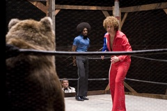 Rocky the Bear in Semi-Pro