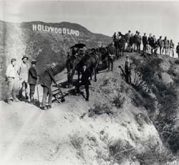 Original Hollywood Sign Bult in 1923