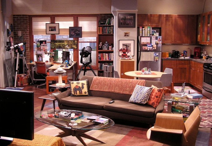 two and a half men TV show set
