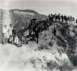 Original Hollywood Sign Bult in 1923