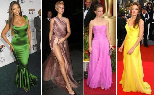 fashionable hollywood actresses